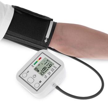 Tonometer Arm Automatic Blood Pressure Monitor BP Sphygmomanometer Pressure Meter Tonometer for Measuring Arterial Pressure 4