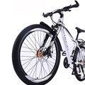Горный велосипед 26 дюймов для взрослых с двойным дисковым тормозом, дорожный беговой велосипед для студентов, мужчин и женщин
