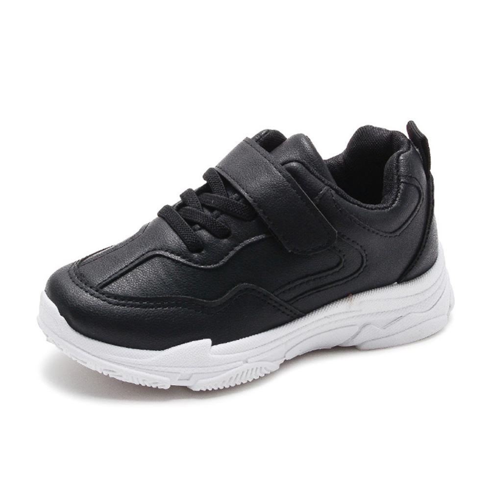 4.5-5 Years Old, Black Toddler Boys Girls Kids Fashion Sneakers Winter Warm Running Shoes 1-12 Years Old Children Causal Shoes
