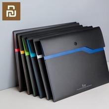 Xiaomi Fizz A4 органайзер для документов, двухслойная Вместительная Сумка для документов, деловой портфель, Офисная поставка