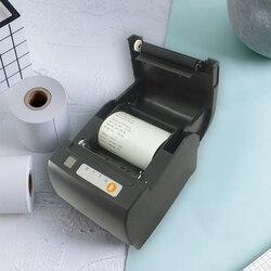 Nowy drukarka termiczna 80mm sklepie detalicznym terminal POS kasjer pojedyncze Alarm dźwiękowy Port sieciowy Port szeregowy USB drukarka termiczna ue Plu