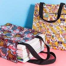 Handbag Tote Book-Bag Japanese-Style MABULA Eco-Friendly Reusable Cartoon Unisex Children