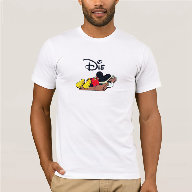 Mouse Salt T SHIRT Funny Mickey Fun Entertainment P Karikat R T Shirt Men