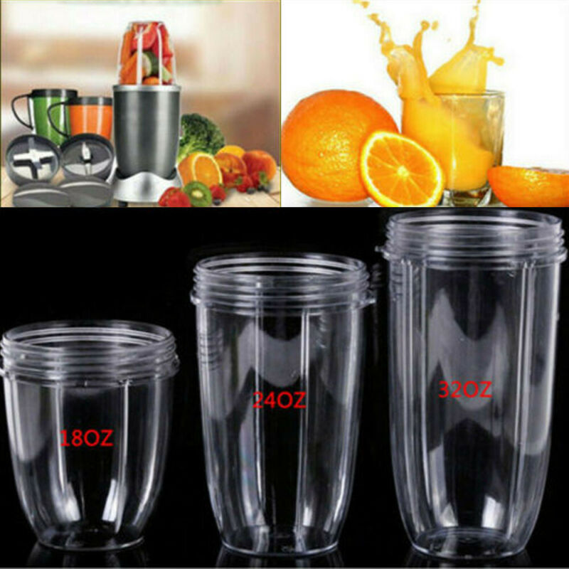 18/24/32OZ Mugs Cups For The Magic Bullet Blender Juicer Fast Shipping