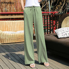 Wide Leg Pants Women 2020 Newest Summer