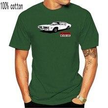 Camiseta clásica de Mustang Fastback 71 72 73 para hombre, camiseta a la moda, verano 2020