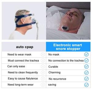 Image 5 - Easeful Snore stopper Anti Snurken Voorkomt Smart Anti Snurken Spier Stimulator Slaap Snurken Oplossing voorkomen Slaap Apneu CPAP