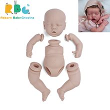 RBG 12 Inches Twin A Reborn Baby Lifelike Full Vinyl Body Unpainted Unfinished Parts DIY Blank Kits Gift LOL Dolls For Girl