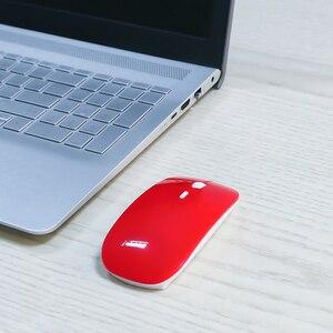 Image 5 - Kebidumei 2.4Ghz USB optik kablosuz fare fare süper ince ince fare oyun alıcısı Mini Macbook PC Laptop için bilgisayar
