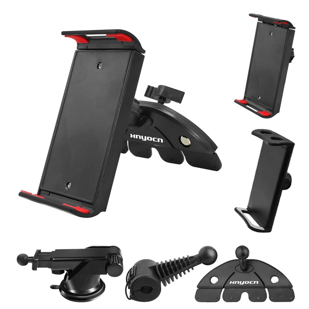 Free Collocation Universal Phone Tablet Stand 7 8 9 10 11 Inch Car Back Seat CD Slot Air Outlet Desktop Bracket Holder Mount