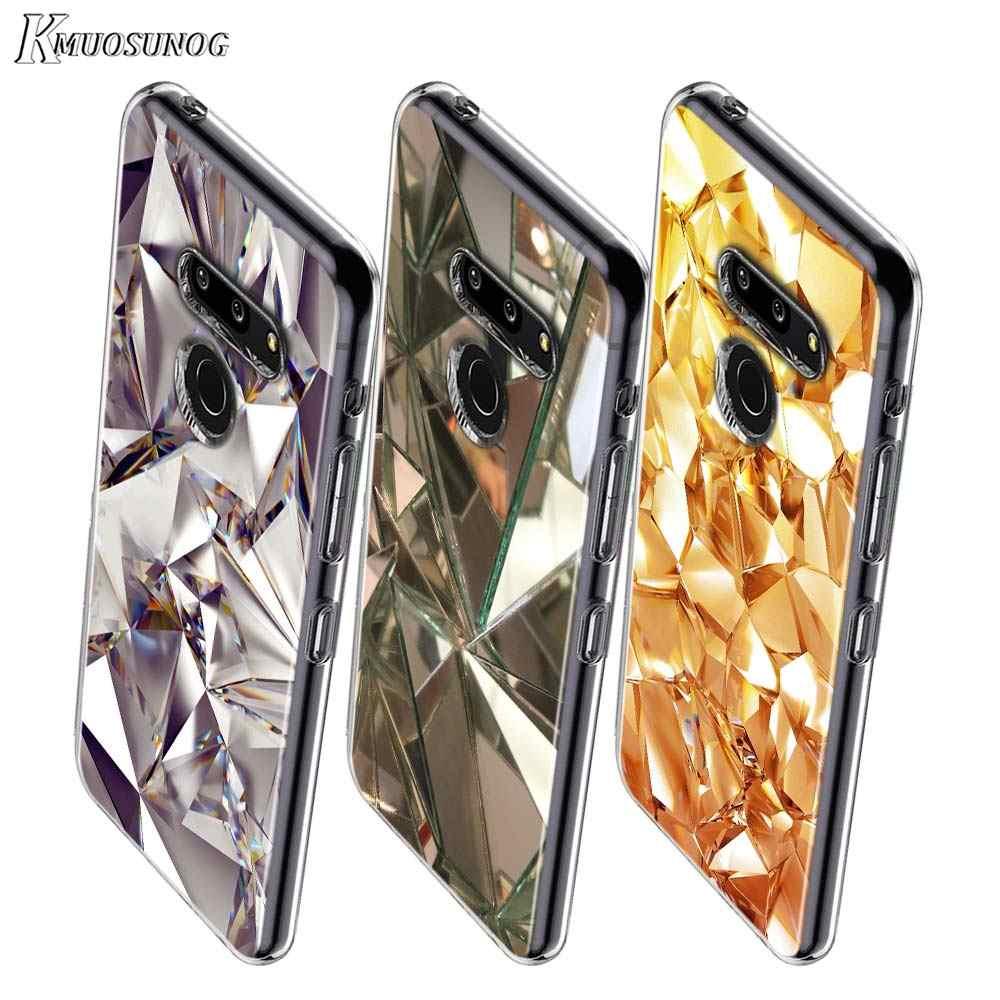 Tinh Thể Kim Cương Phong Cách Cho LG W20 W10 V50S V50 V40 V30 K50S K40S K30 K20 Q60 Q8 Q7 Q6 G8 g7 G6 Thinq Ốp Lưng Điện Thoại