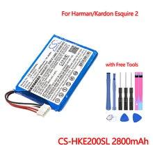 Bluetooth Динамик Батарея cs hke200sl Для harman/kardon esquire