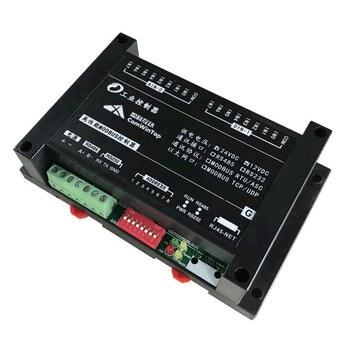 цена на RS485 Ethernet Digital Analog Input Output SCADA modbus rtu Data Acquisition i/o Module