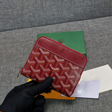 2021 new fashion large capacity short zipper wallet dog tooth bag small coin purse
