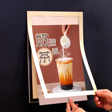 Magnets Document-Display Pocket-Frame-Border And A5 for Refrigerator Photo-Picture Fridge