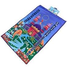 Tapete de oração muçulmano islâmico para crianças educacional interativo oração tapete adoração musallah orador blanke