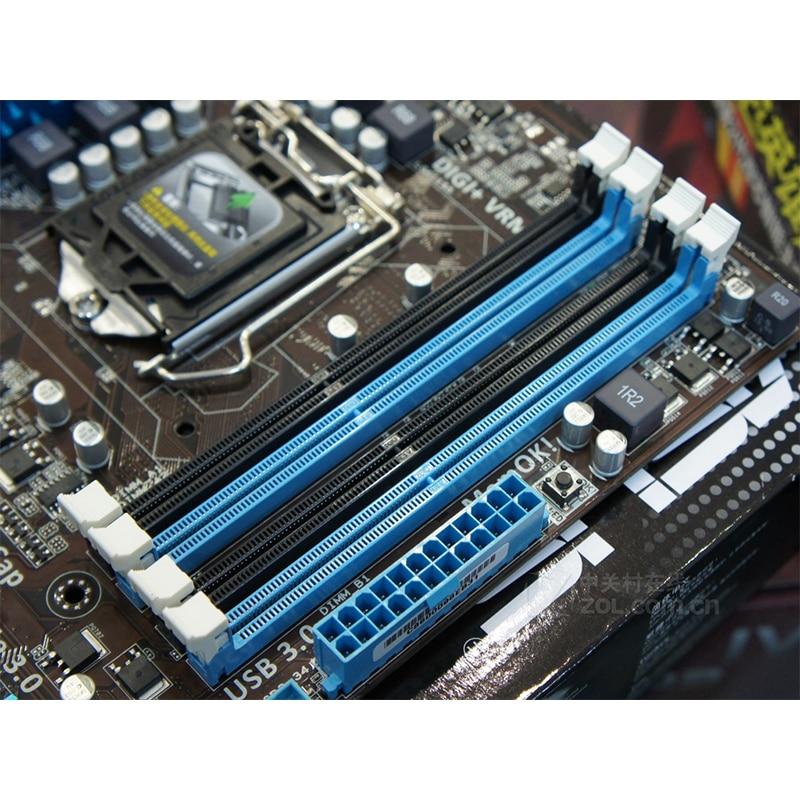 For ASUS P8H77-V LE Desktop Motherboard Intel H77 LGA1155 USB 3.0 System Board