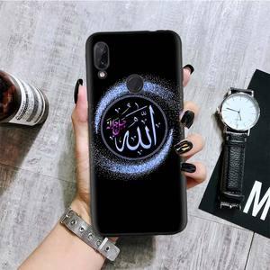Image 5 - Arabo Musulmano Islamico Nero Del Modello Della Copertura Della Cassa Del Telefono per Xiaomi Redmi Nota 8T 10 9S 8 7 8A 7A 6A Mi 10 9 8 CC9 K20 Pro Lite Coque