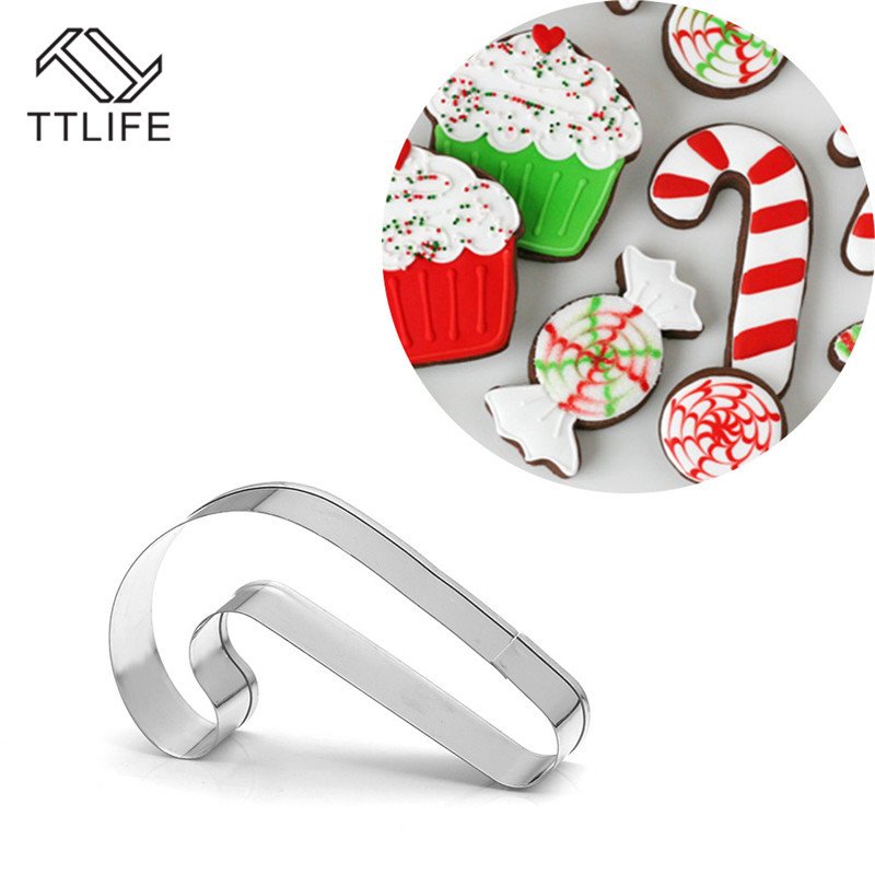 New Christmas Cookie Cutter Tools Aluminium Alloy Gingerbread Men Shaped Holiday Biscuit Mold Kitchen Cake Decorating Tools in Cookie Tools from Home Garden