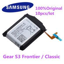 10 PÇS/LOTE EB-BR760ABE Da Bateria Original Para Samsung Engrenagem S3 Fronteira/Classic EB-BR760A SM-R760 SM-R770 SM-R765 SM-R765S 380mAh