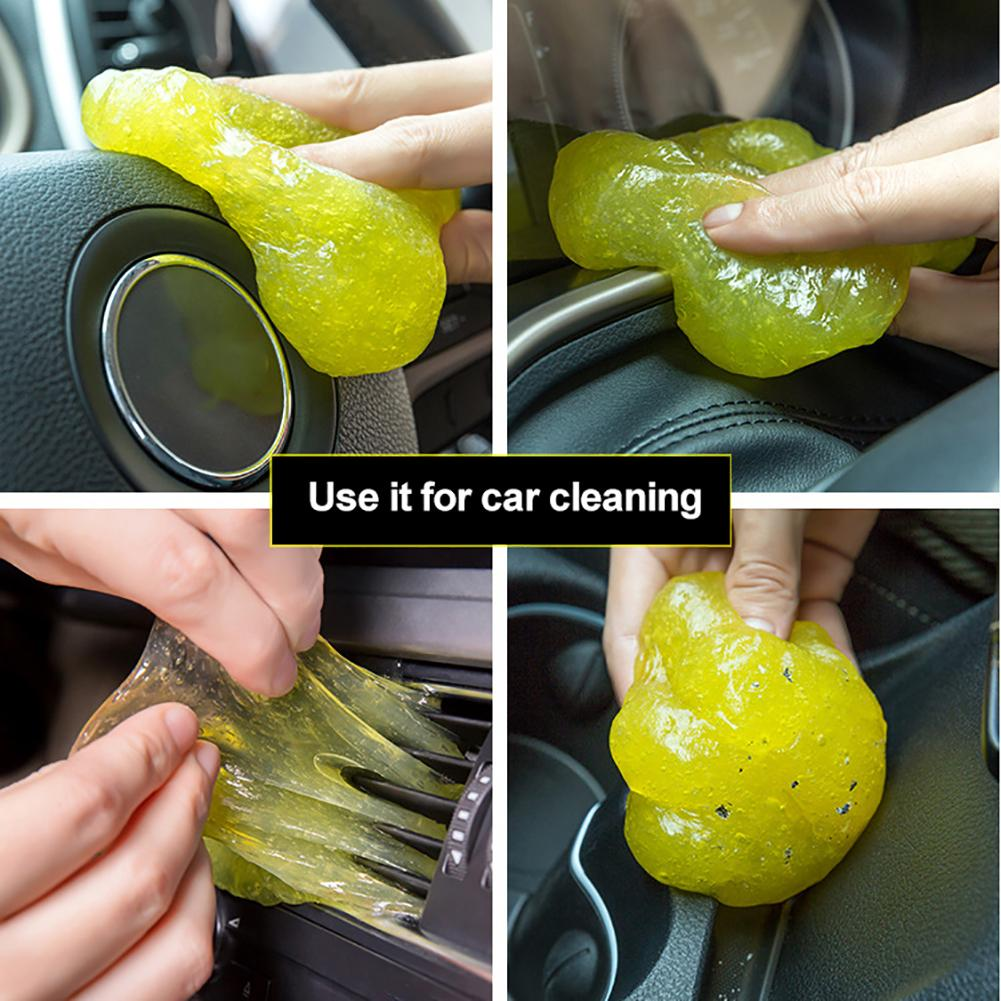 High-Tech Magic Dust Cleaner Compound Supers Clean Slimy Gel For Phone Laptop Pc Computer Keyboard Car Clean