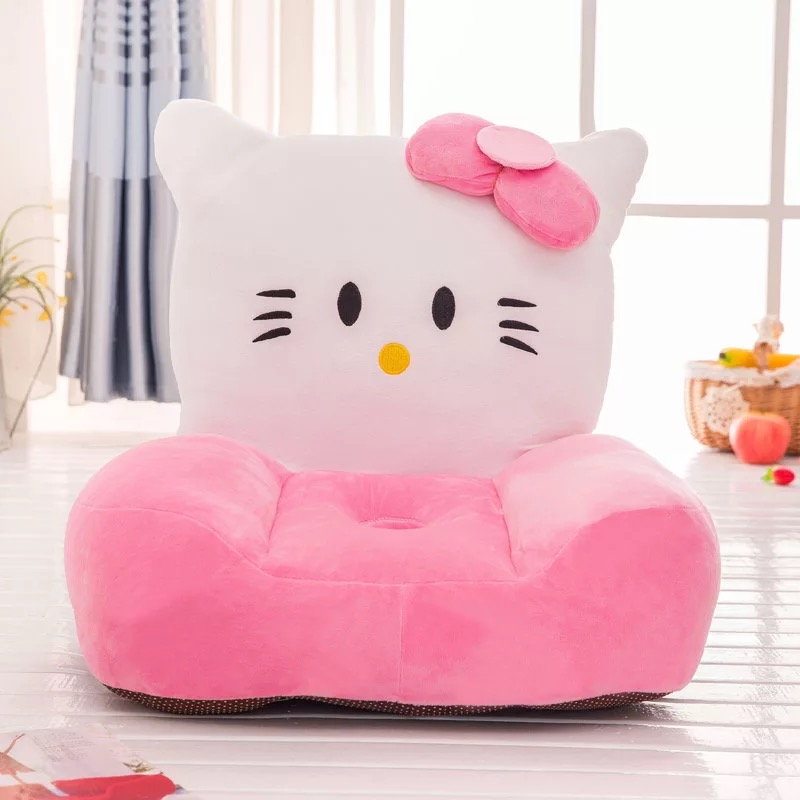 Children's Little Sofa Kindergarten Baby Bench Chair Princess Boys And Girls Lovely Cartoon Animal Lazy Sofa Chair