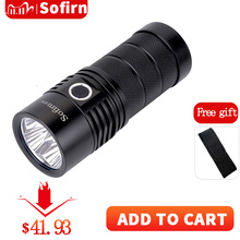 Sofirn SP36 4*XPL2 Powerful 6000LM LED Flashlight USB Rechargeable 18650 Multiple Operation Super Bright Lantern Narsilm V1.2