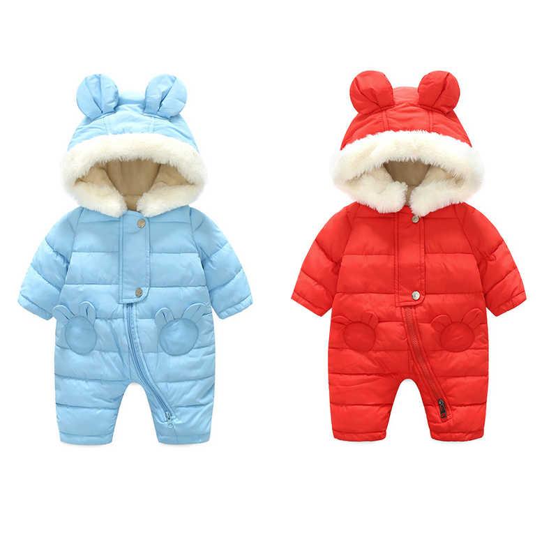 Новинка 2019 года; теплая и утепленная одежда для альпинизма с ворсом для маленьких детей комбинированная хлопковая куртка; одежда для детей 0-2 лет