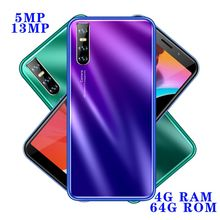 Smartphones 13MP M30 Global Version 4GB RAM 64GB ROM 6 0inch Full Screen Android Face unlocked Mobile Phone Cellphones Celulares cheap BYLYND Detachable Face Recognition Up To 48 Hours 3000 Adaptive Fast Charge Smart Phones Capacitive Screen English Russian
