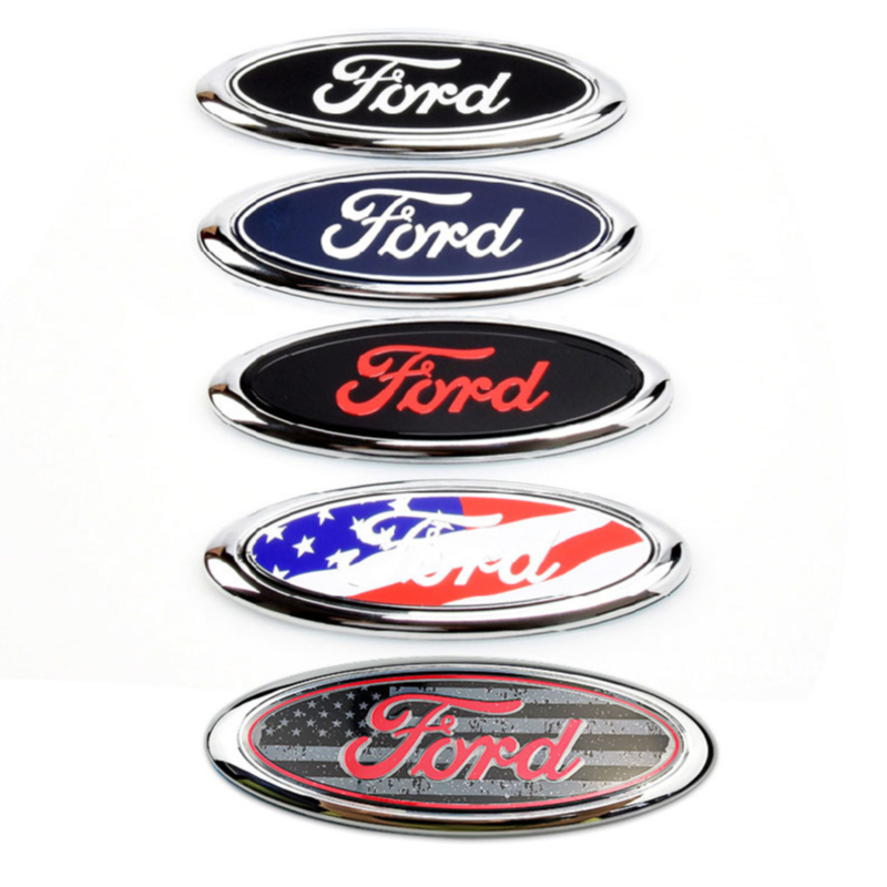 Car Rear Trunk Emblem Sticker for Ford Logo Focus 3 Fiesta Mk6 Transit Ranger Kuga Mondeo Explorer Ecosport Galaxy Accessories