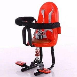 Asiento eléctrico para niños, asiento delantero de seguridad de asiento de absorción de choque, Scooter Eléctrico para bebé