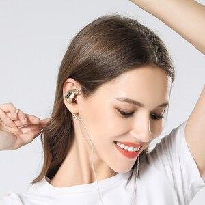 Image 5 - Superafactory OM3 ترقية سماعات أذن باص داخل الأذن ديناميكية سماعة HIFI DJ ياربود سماعات الأذن 2Pin 0.78 مللي متر موصل انفصال كابل