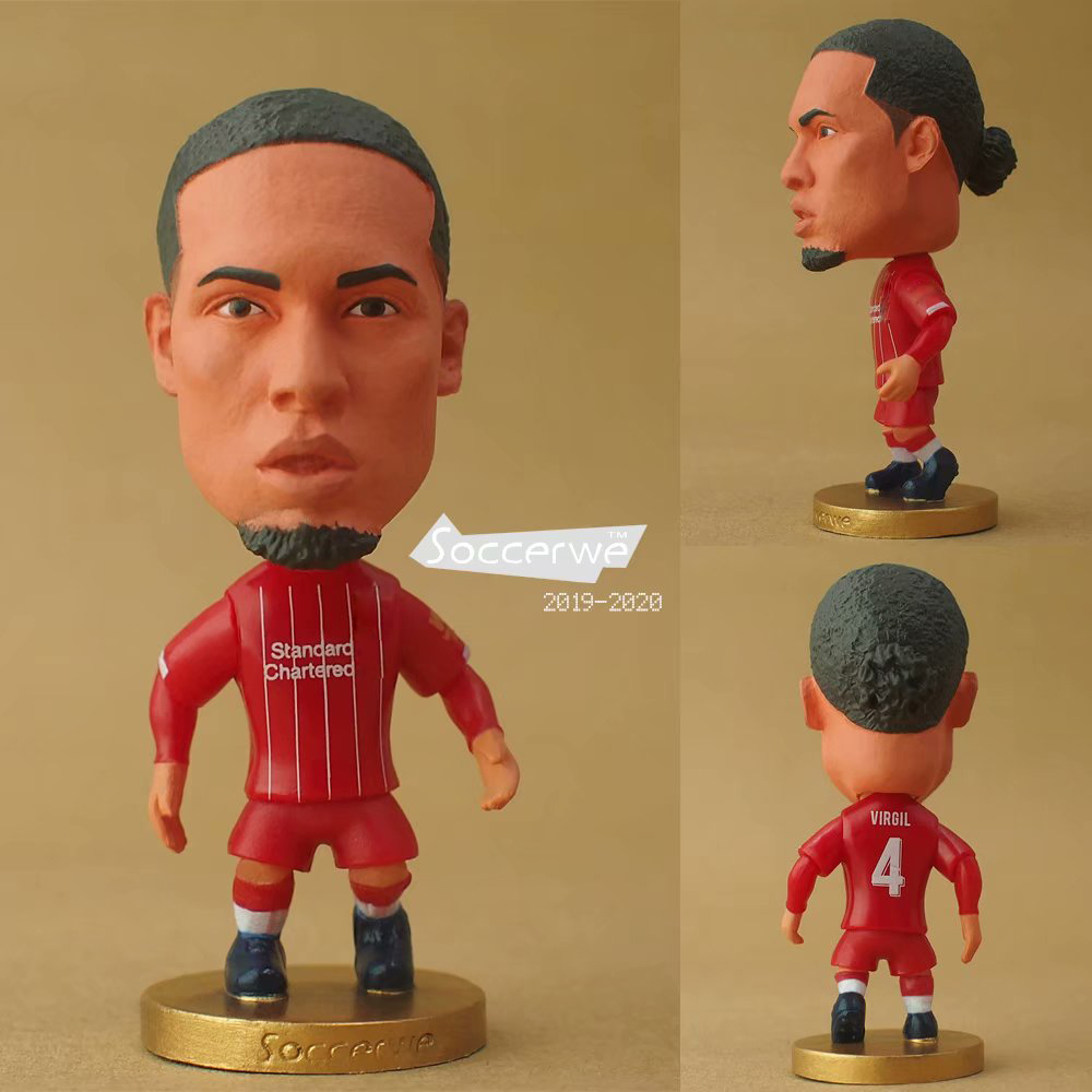 6.5 Cm Height Resin Dolls Virgil Van Dijk 2020 2.5