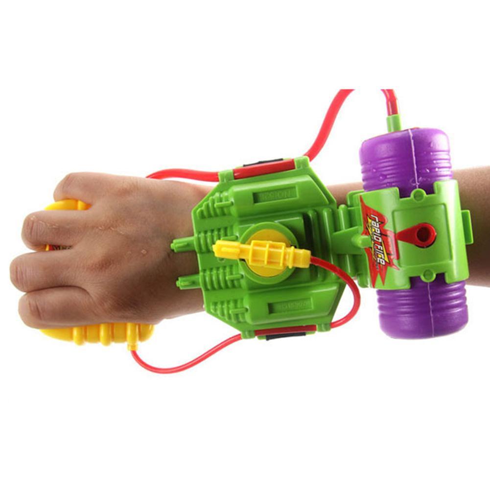 Kids Plastic Wrist Sprinkling Water Gun Toy Swimming Pool Beach Outdoor Shootered Kids Toys