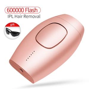 Permanent IPL laser hair remov