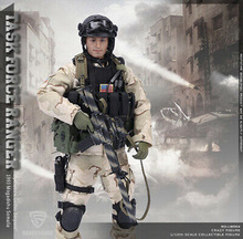 In stock Crazy Figure 1/12th LW004 SFOD Task Force Ranger 1993 Somalia Sagittarius Figure full set figure