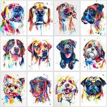 evershine алмазная мозаика животные картина стразы Алмазная вышивка собаки распродажа вышивка крестом наборы подарок ручной работы