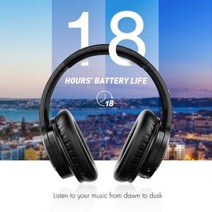 Image 3 - Mpow casque découte Bluetooth haute taille, avec micro et sac de transport pour iPhone/iPad en H7, réduction du bruit stéréo,