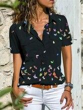 Temperament short-sleeved women shirt loose shirt women plus size casual top women