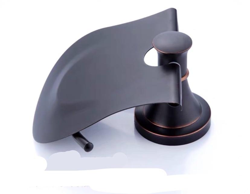 Винтаж черный латунь рулон салфетка органайзер европейский стиль ванная% 2F туалет бумага держатель настенный навесной