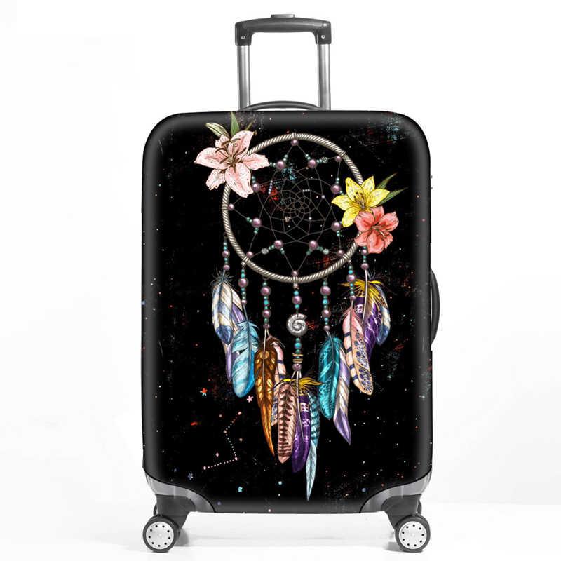 Dreamcatcher эластичный багажный Чехол для багажа протектор чемодан Защитные чехлы для тележки Чехол для багажника подходит для 18-32 дюймов