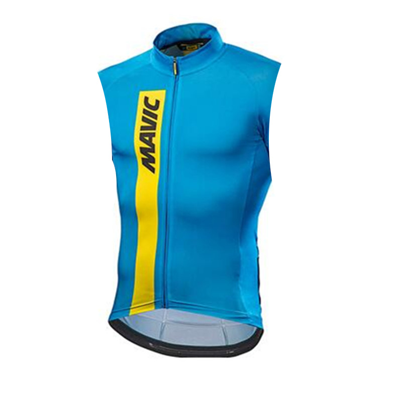 2019 MAVIC Men Pro Cycling Jersey Sleeveless Ciclismo Ropa Bike Clothes Quick Dry Shirts Bicycle Clothing Summer Maillot #7