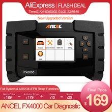 Ancel FX4000 OBD2 Automotive Scanner Professional Full System Code Reader Auto Diagnose ABS Öl EPB OBD 2 Auto Diagnose Werkzeug