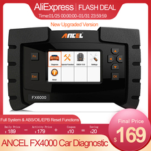 Code-Reader Car-Diagnostic-Tool Automotive-Scanner Immo Obd Ancel Fx6000 OBD2 Professional