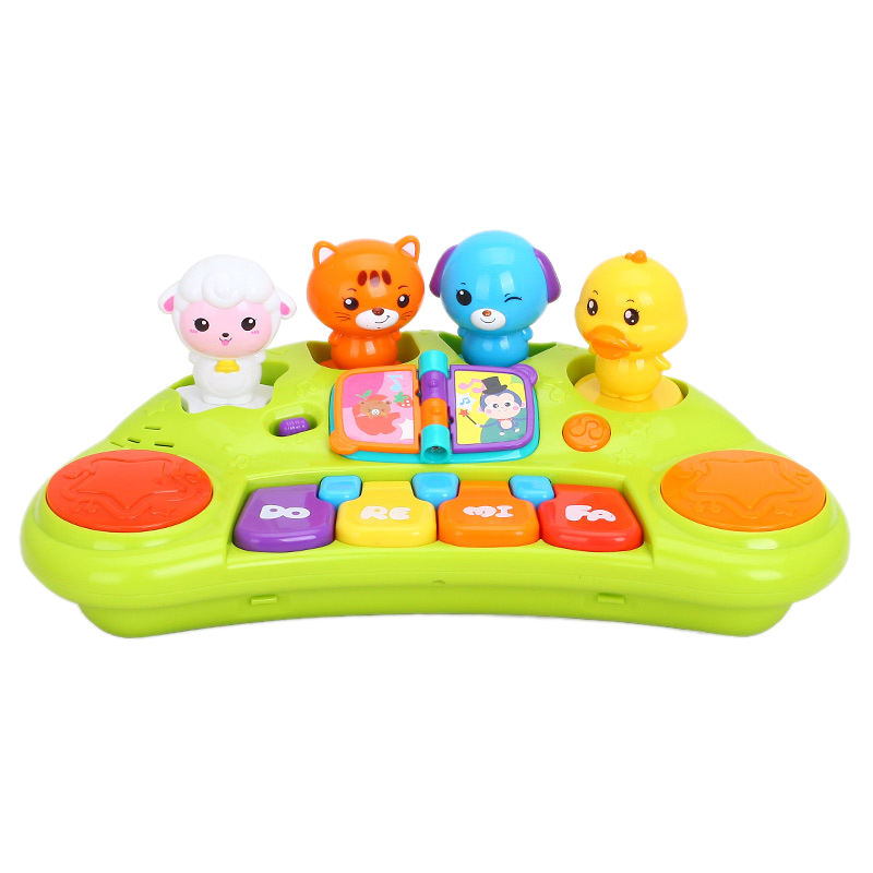 Baby Music Piano Keyboard Button Toys, Cute Animals, Baby Toys, Music Lights And Animal Sounds, Holiday Gifts, Birthday Gifts