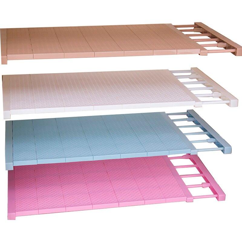 New Adjustable Closet Organizer Storage Shelf Wall Mounted Kitchen Rack Space Saving Wardrobe Decorative Shelves Cabinet Holders