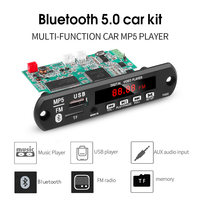 Mp5 bluetooth placa de decodificador de vídeo de áudio apoio usb tf mp3 wav lossless decodificação diy kit carro eletrônico módulo placa pcb|DAC| |  -