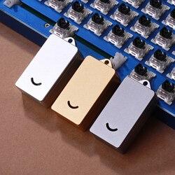1 шт. механическая клавиатура с ЧПУ металлический Алюминиевый штопор для Kailh Cherry gateron outemu переключатели