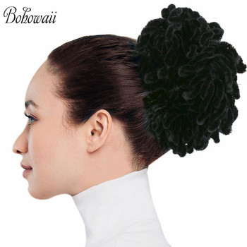 BOHOWAII moda Hairbands muzułmańskie akcesoria Do włosów dla kobiet hidżab Scrunchies Femme Musulman Ozdoby Do Wlosow tanie i dobre opinie CN (pochodzenie) POLIESTER WOMEN Dla osób dorosłych Nakrycie głowy Opaski do włosów Stałe HY20-L118