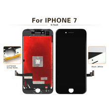 цена на Grade AAA+++ LCD Display For iPhone 7 Touch Screen Replacement Screen Digitizer Assembly for iPhone 7 LCD Screen No Dead Pixel